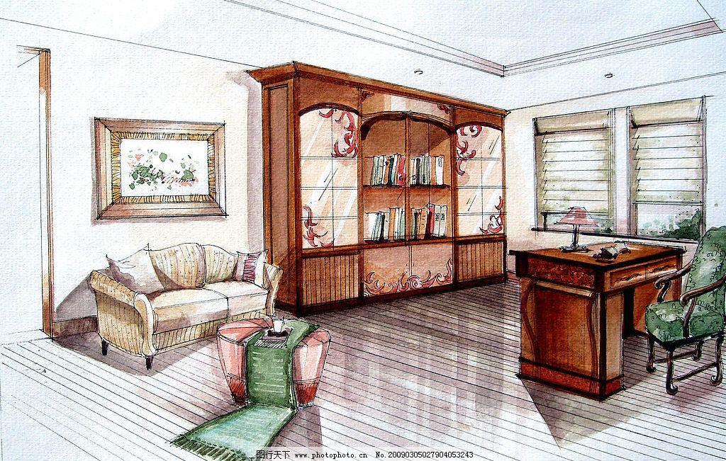 李佳倩手绘效果图室内外设计 室内设计 室外设计 园林 景观 展板 别墅 效果图 平面图 桌子 椅子 沙发 床 柜 灯 格局 壁画 地板 装饰 艺术效果 分层 手绘效果 环境设计 设计图库 300DPI JPG