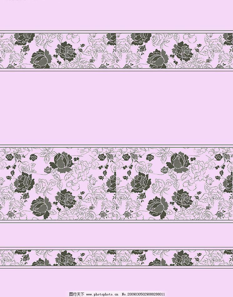 玫瑰线条 玫瑰 线条玫瑰 移门 其他 图片素材 设计图库 72dpi jpg