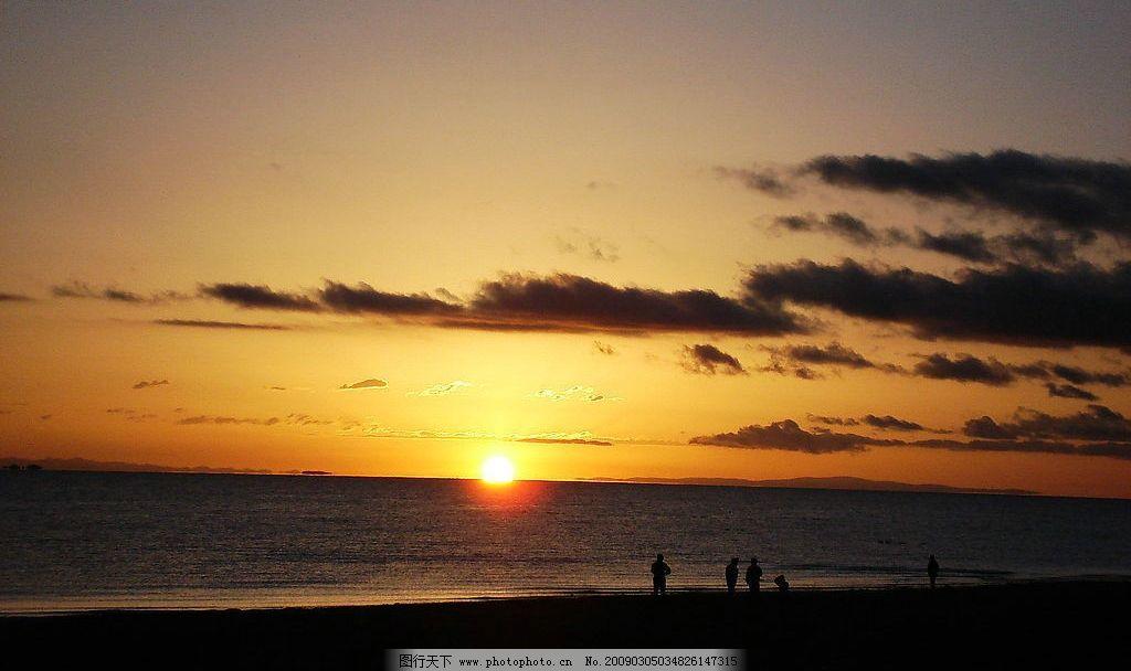 落日 自然风光落日 自然 风光 日出 海边 海洋 夕阳 晚霞 沙滩 海滨
