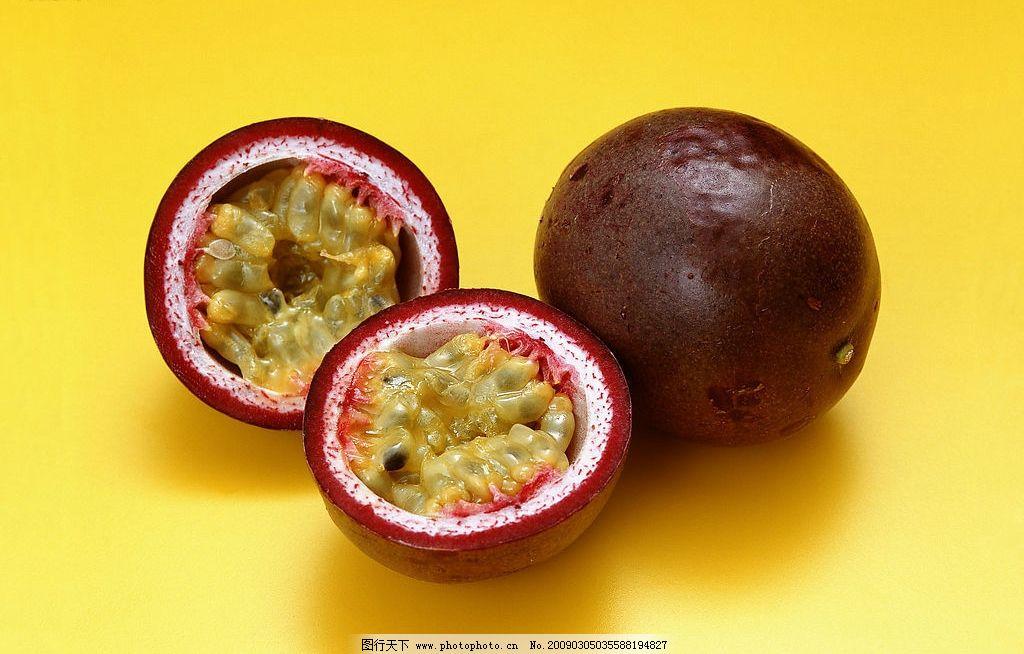 百香果 山竹 切半 其他 图片素材 摄影图库 350dpi jpg 生物世界 水果