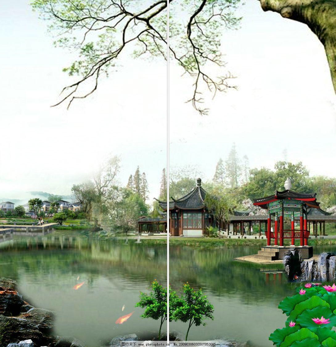 苏州园林风景图片