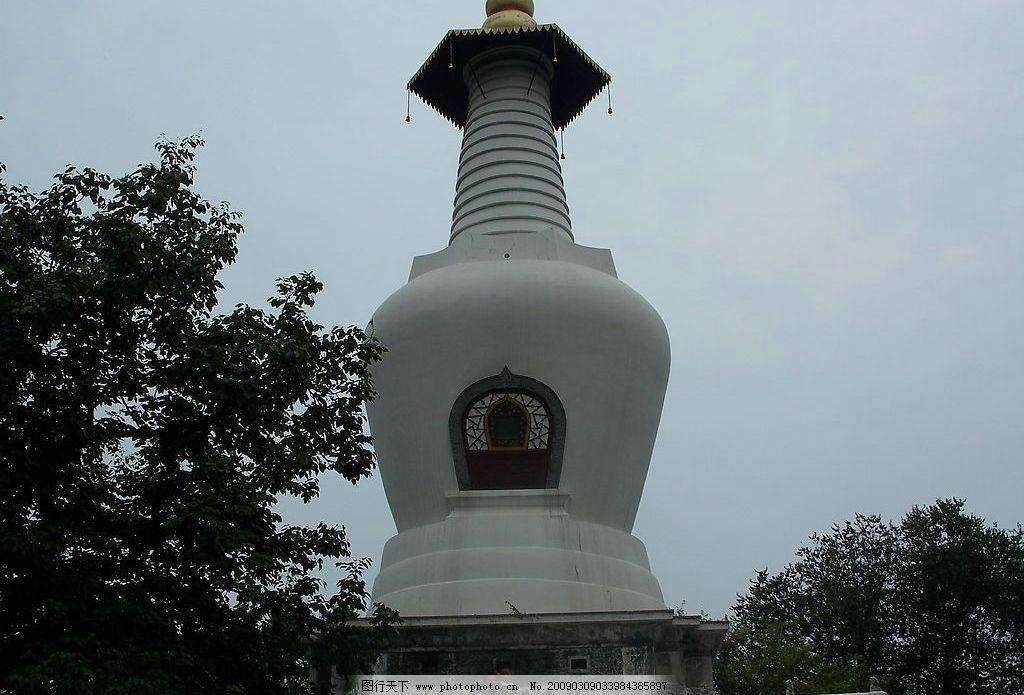 扬州瘦西湖白塔图片