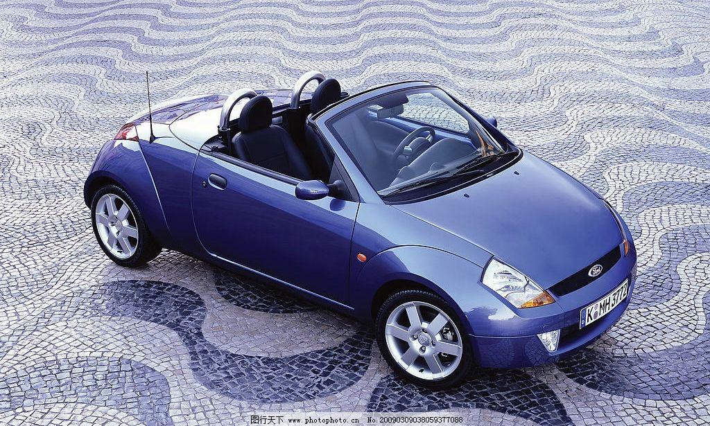 福特ka 汽车 进口车 高档车系 现代科技 交通工具 摄影图库 300dpi
