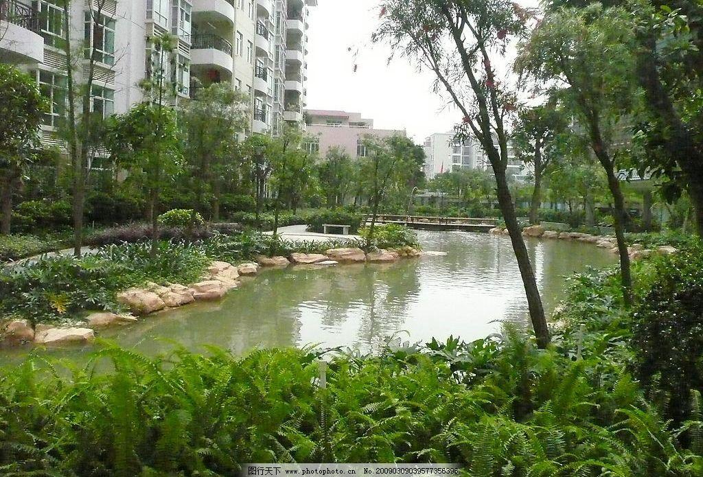 建筑园林水景图片