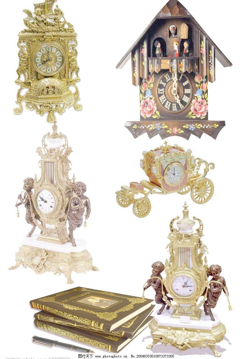 欧式风格挂钟图片