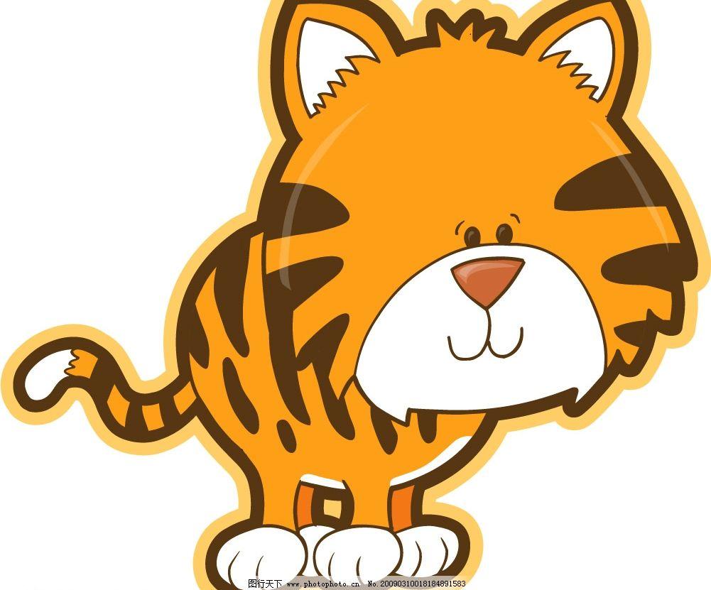 可爱卡通动物图片