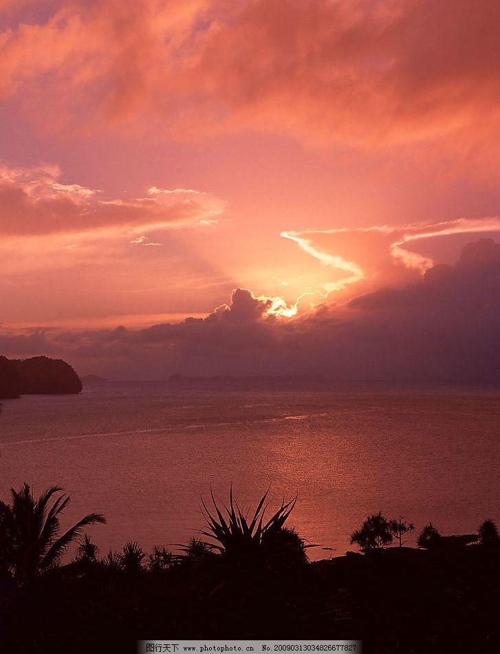 红霞 云霞漂浮图片自然风光 自然风景 自然景观 晚霞 天空 云彩