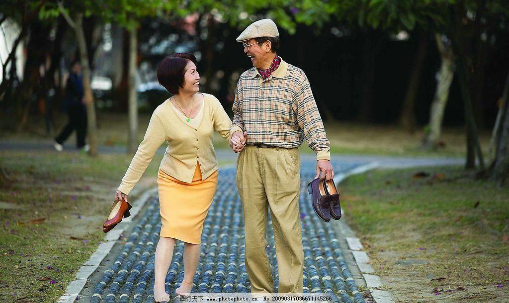 春季老年 春季 春天 春初 老年 中年 中老年 夫妻 健康生活 幸福生活图片