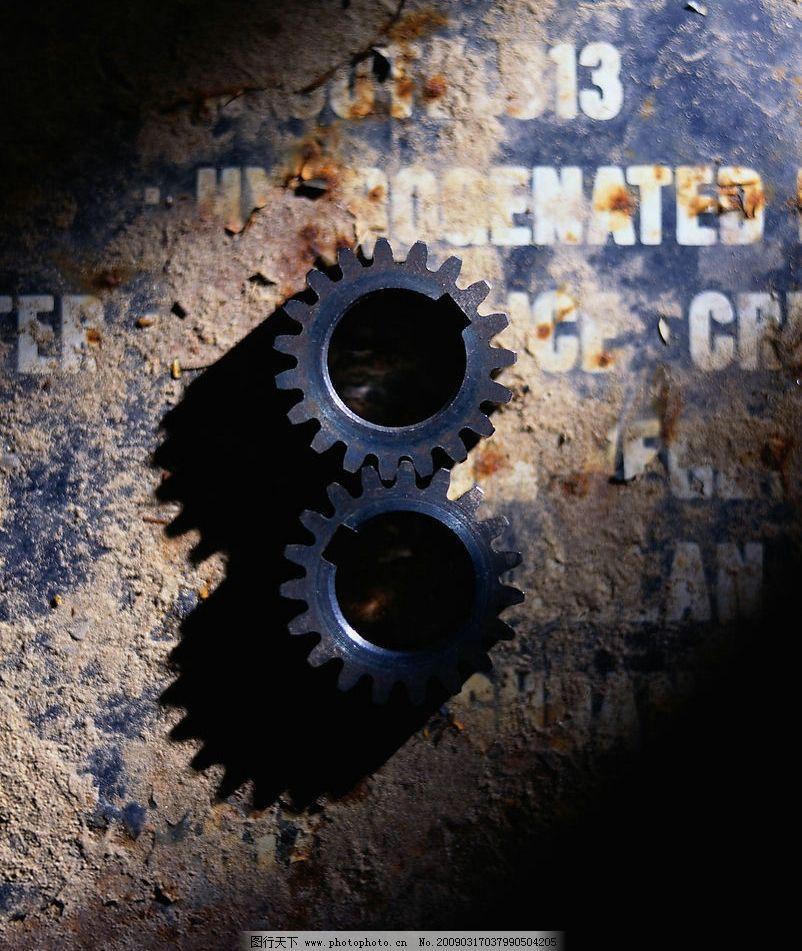 齿轮特写 齿轮 特写 抽象 动态 素材 多媒体设计 非线性编辑 齿轮天地