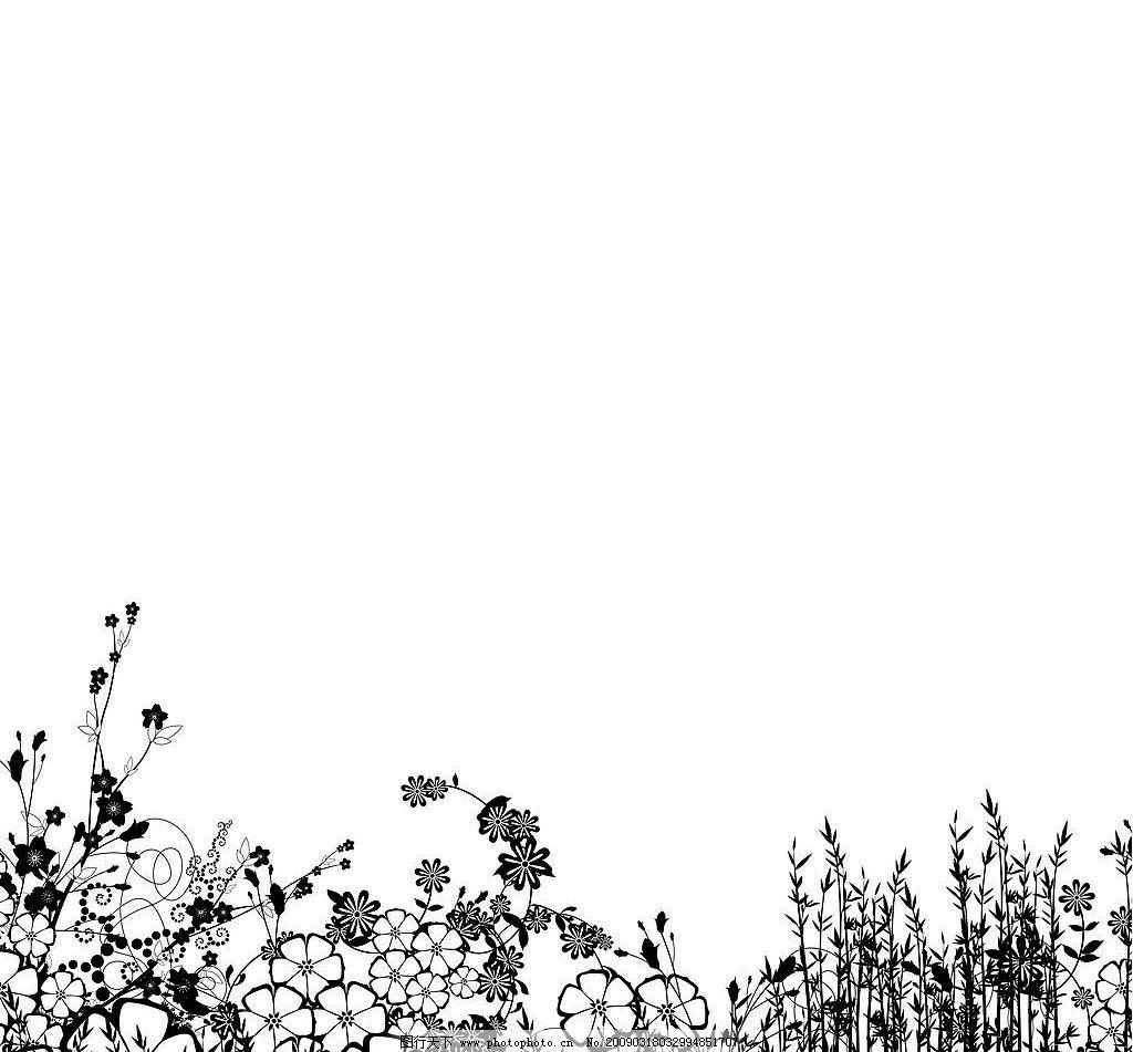 日本时尚花卉花纹花边图片