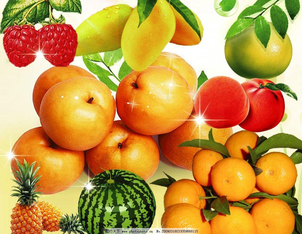 壁纸 矢量 水果 小果 植物 1000_774