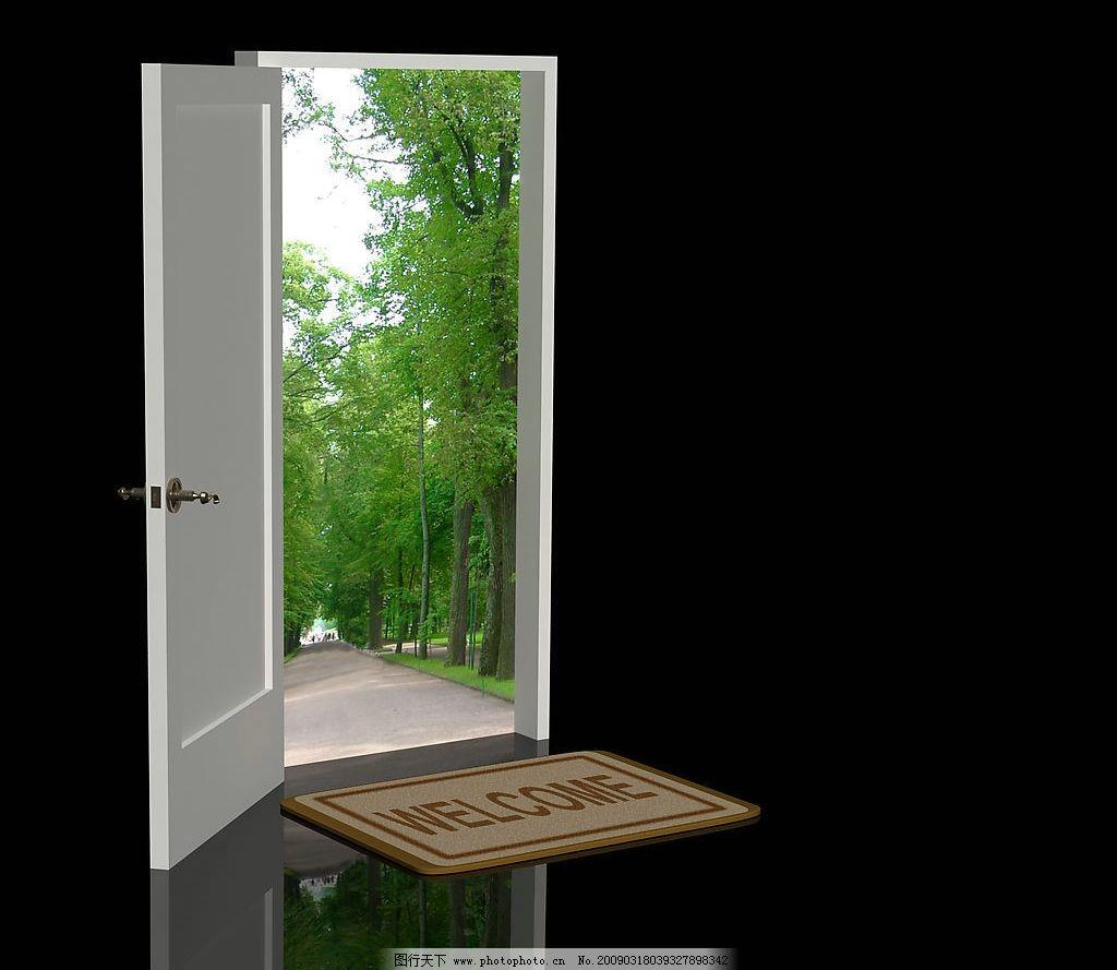 窗户特写 窗户 特写 风景 蓝天 白云 花草 建筑园林 室内摄影 摄影