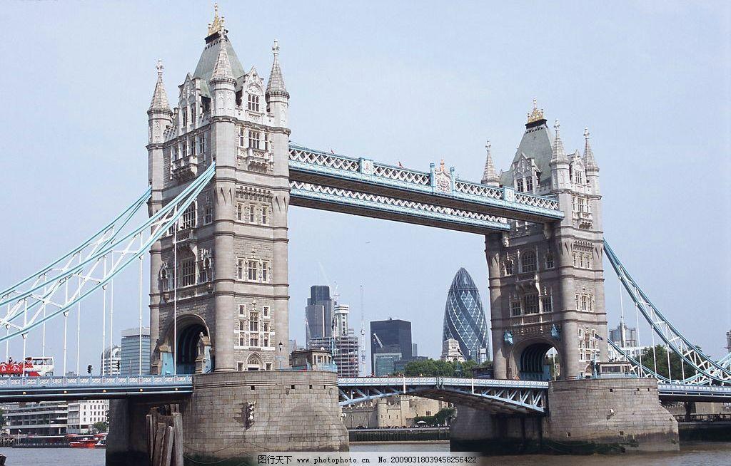 伦敦大桥 建筑园林 建筑摄影