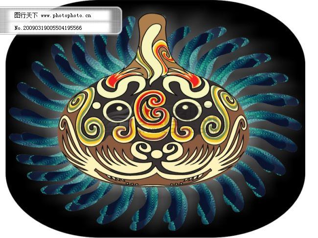 葫芦马勺免费下载 葫芦马勺 矢量图 其他矢量图