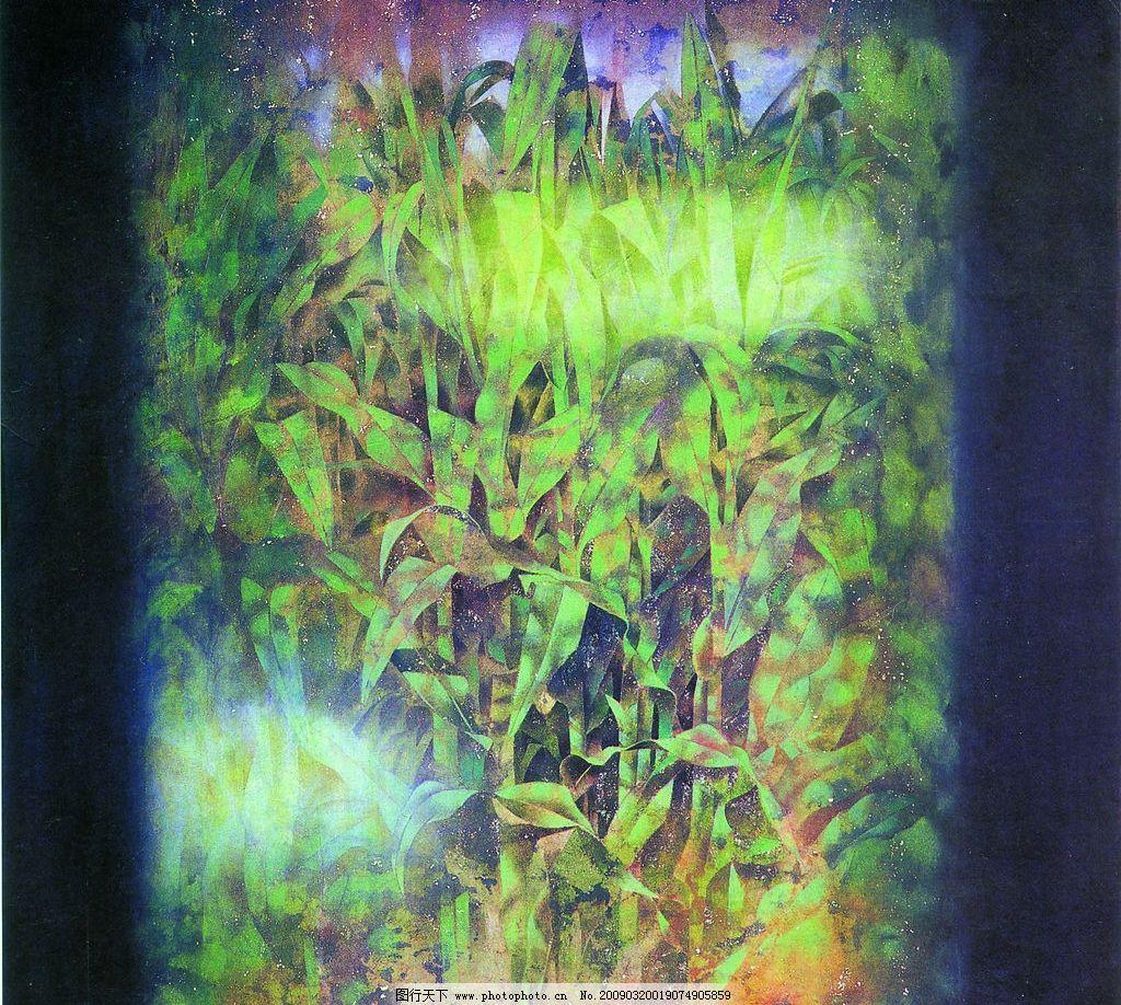 设计图库 文化艺术 绘画书法  韵味 郭巍 中国工笔画 背景 风景 花鸟