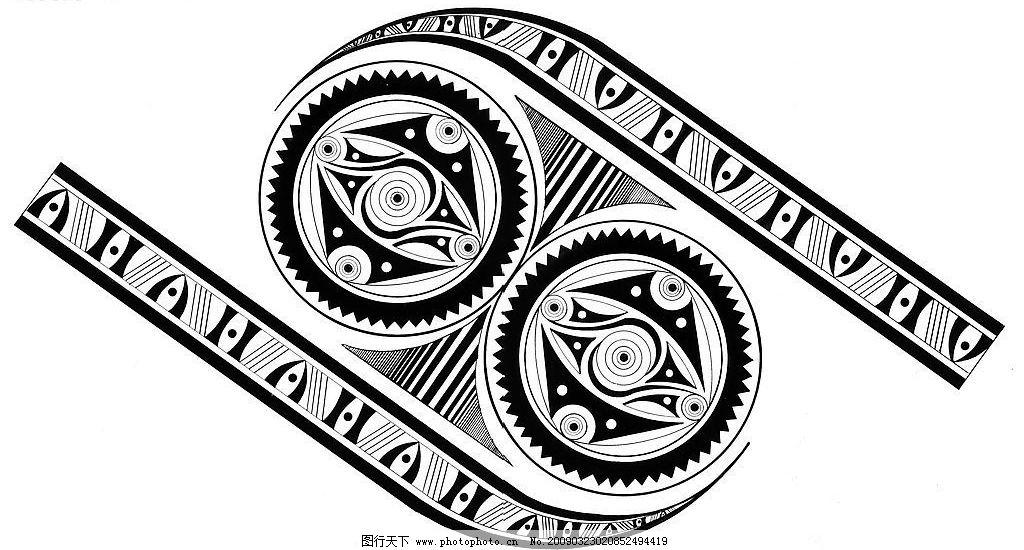 逆对称式结构纹样03 逆对称式结构纹样 底纹边框 其他素材 设计图库