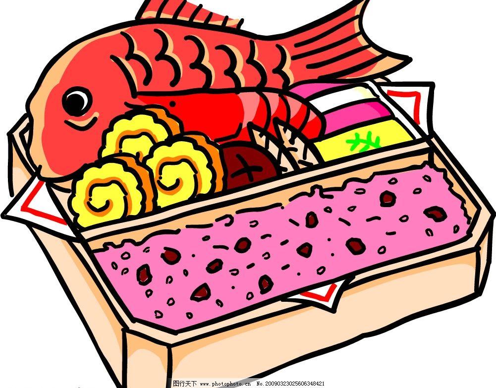 食物 蔬菜 鱼 食材 矢量 料理 矢量图库