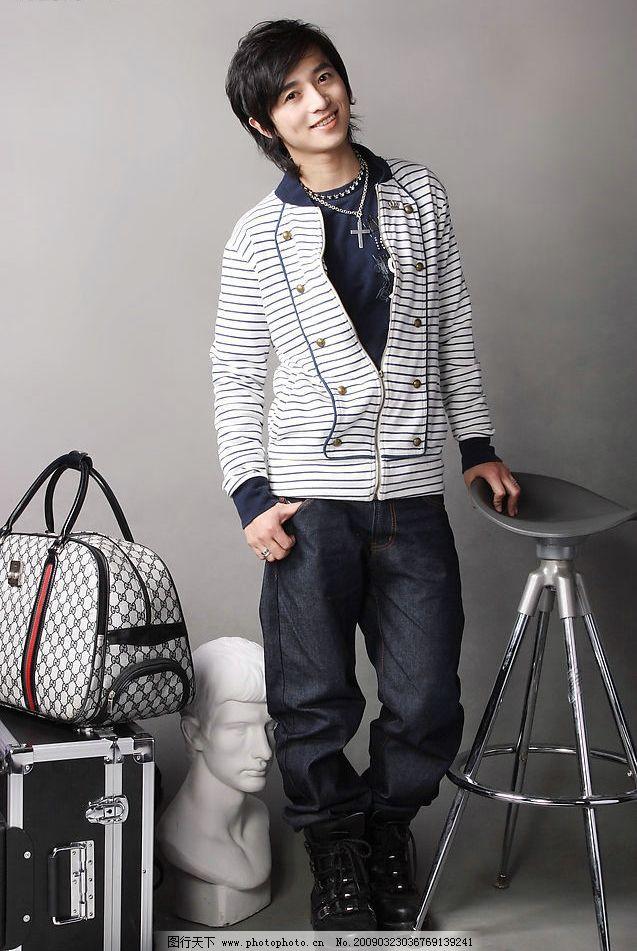 韩国男模特 男模特 时尚