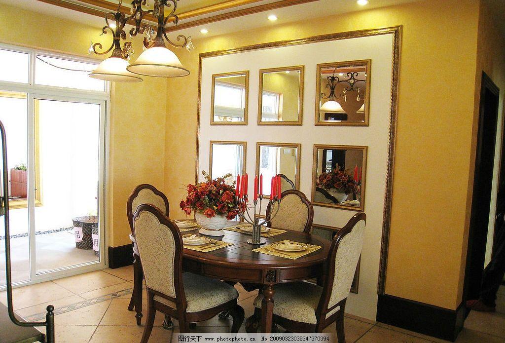 豪华欧式室内摄影餐厅图片