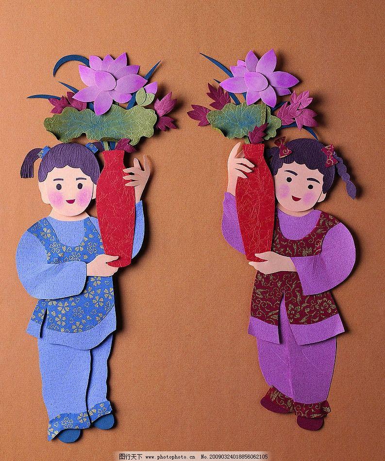 纸雕艺术图片素材 古代人物 文化艺术 传统文化 设计图库 72dpi jpg
