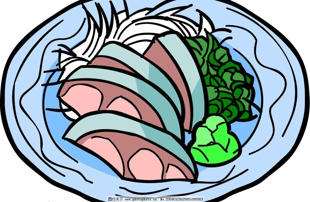 食物 食材 矢量 料理 简餐 快餐 饮料 矢量图库