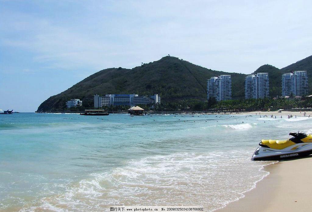 海边沙滩 海南 三亚 大东海 沙滩 海边 旅游摄影 自然风景 摄影图库 7
