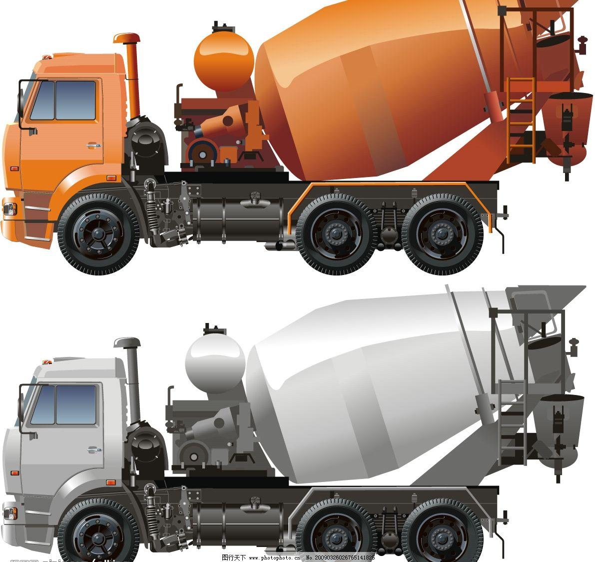 货车矢量图图片