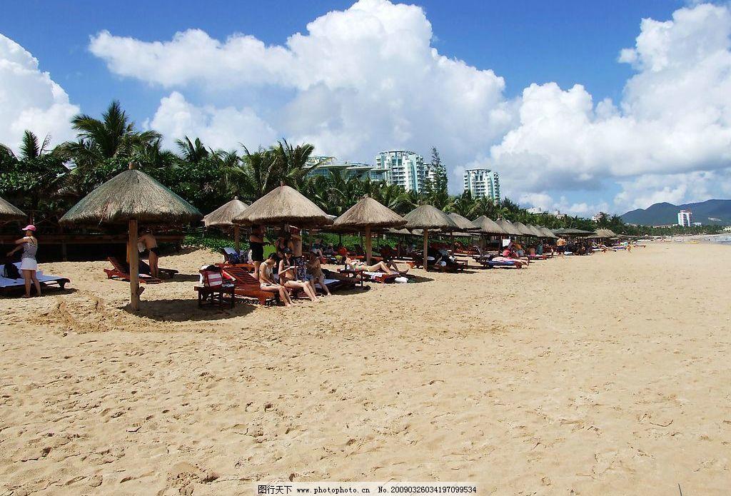 大东海 海南 三亚 海边 沙滩 旅游摄影 自然风景 摄影图库