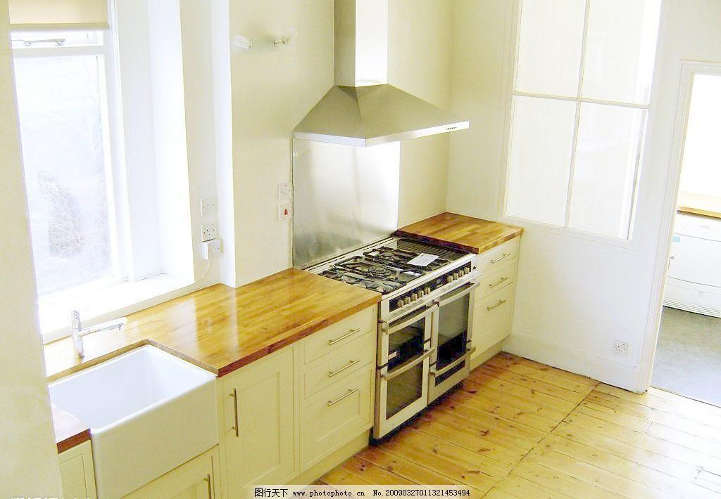 俯视角度的厨房图片_室内设计_装饰素材_图行天下图库