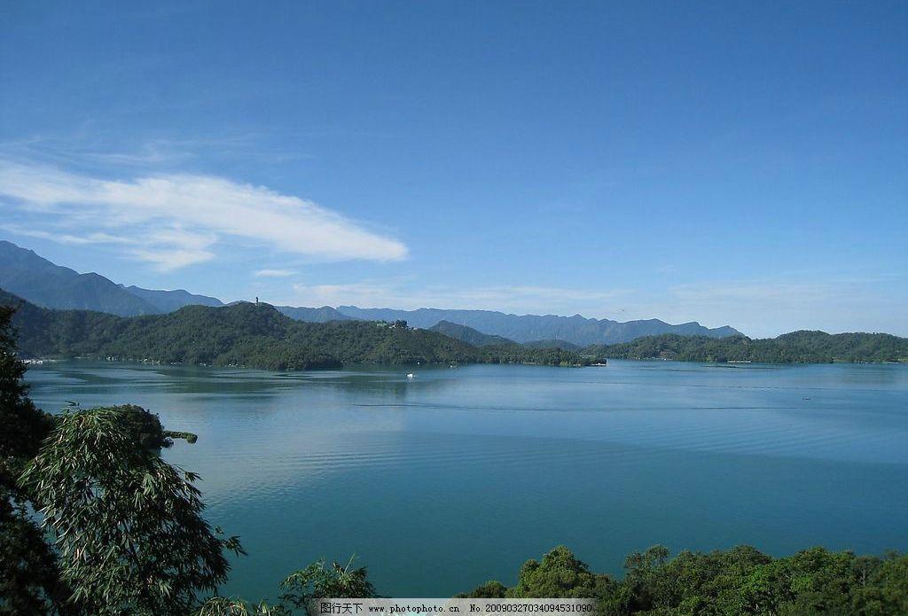 台湾南投:日月潭国家风景区图片