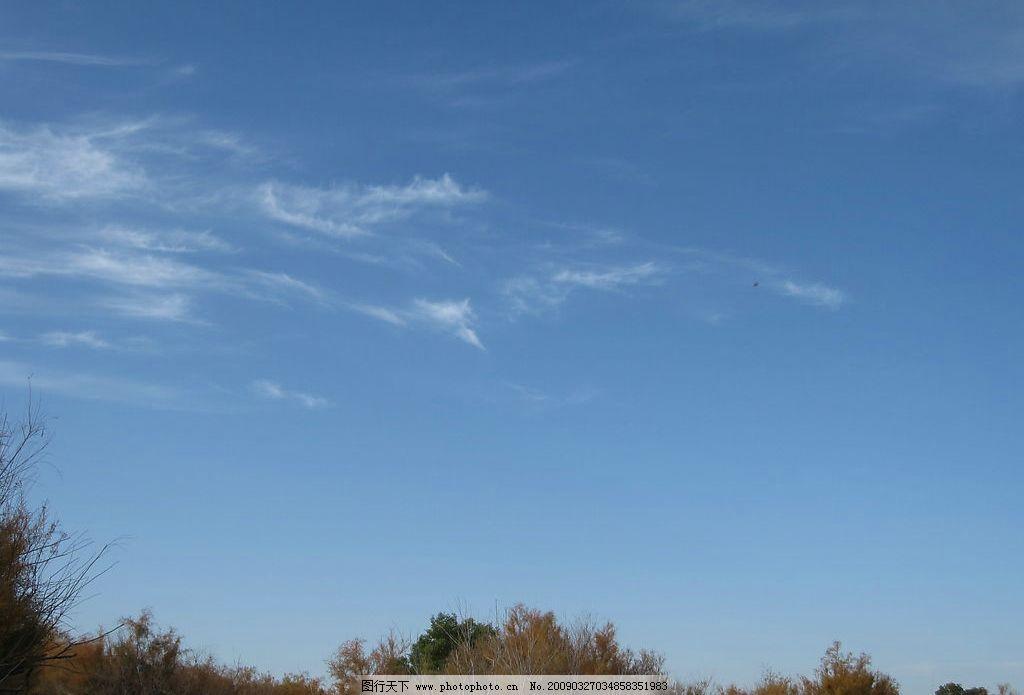 蓝天 内蒙古 额济纳旗 旅游摄影 摄影图库 自然景观 自然风景 戈壁