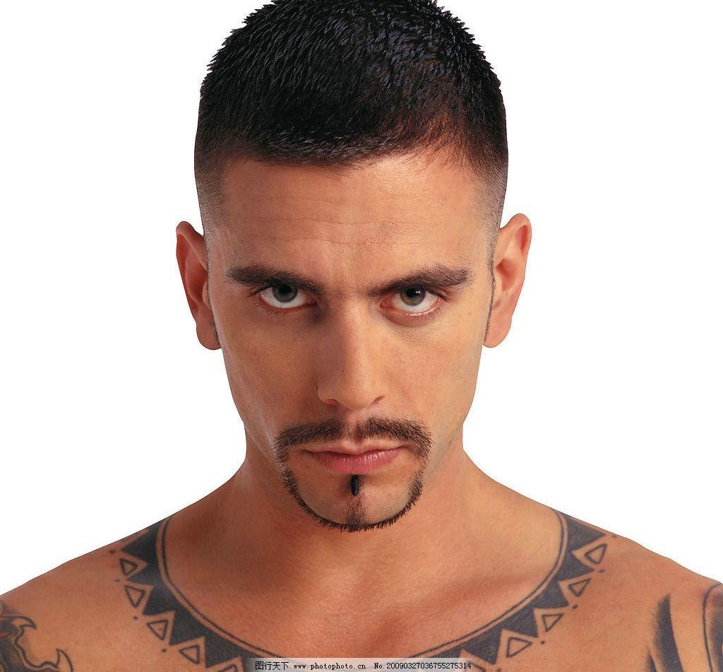 男生微信头像纹身男