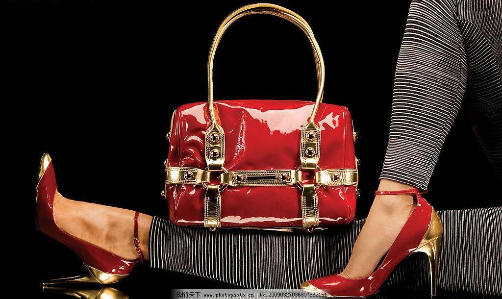 时尚女性 女人 性感 商业 美腿 女包 女鞋 包包 鞋子展示 手提包展示