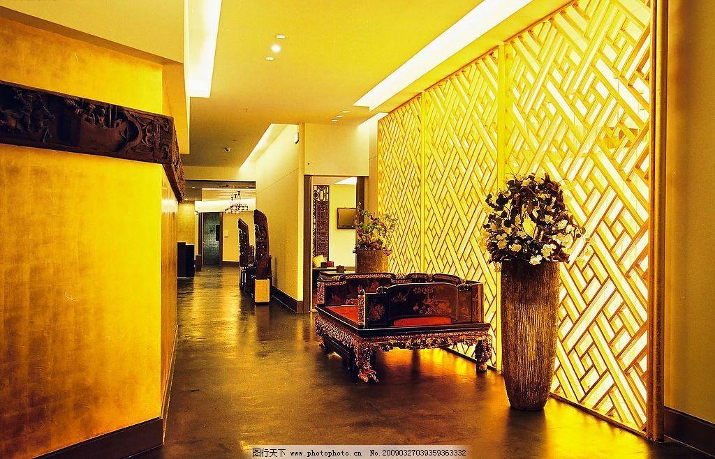 宾馆走廊 壁纸素材