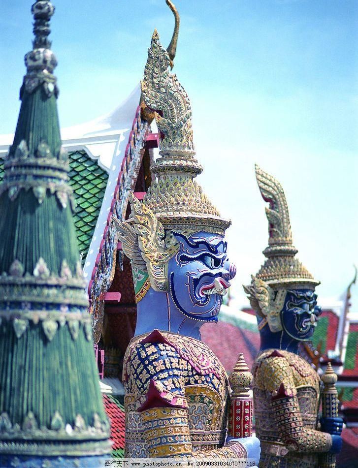 泰国古迹人物3图片