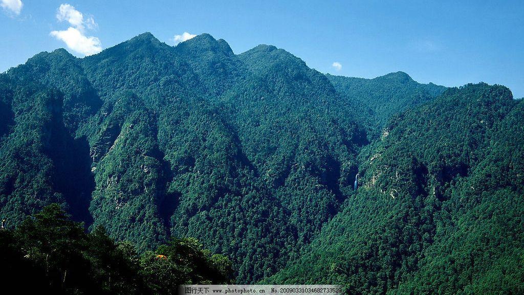 五指峰 井冈山 5a景区 山峰 自然景观 风景名胜 摄影图库 391dpi jpg