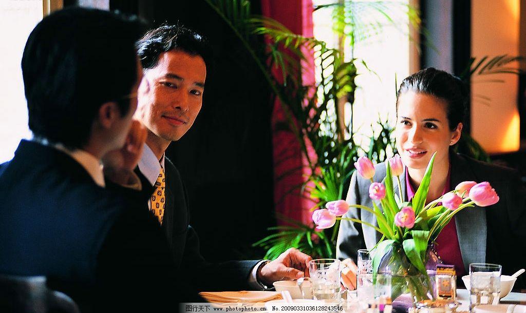 办公室行政人员 办公室 行政人员 讨论 外国白领 人物图库 职业人物