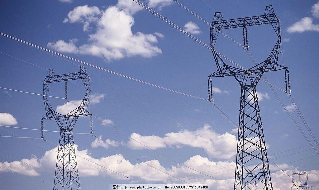 电力铁塔图片_工业生产